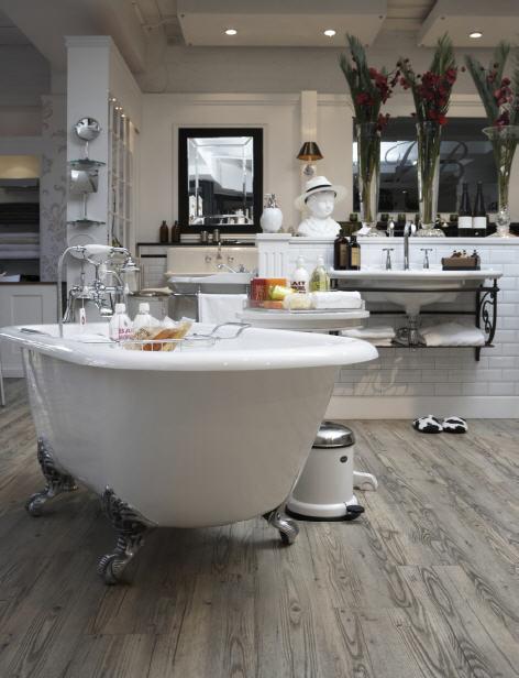 Luxury vinyl flooring vinyl tiles glue down vinyls for Who makes downs luxury vinyl tile